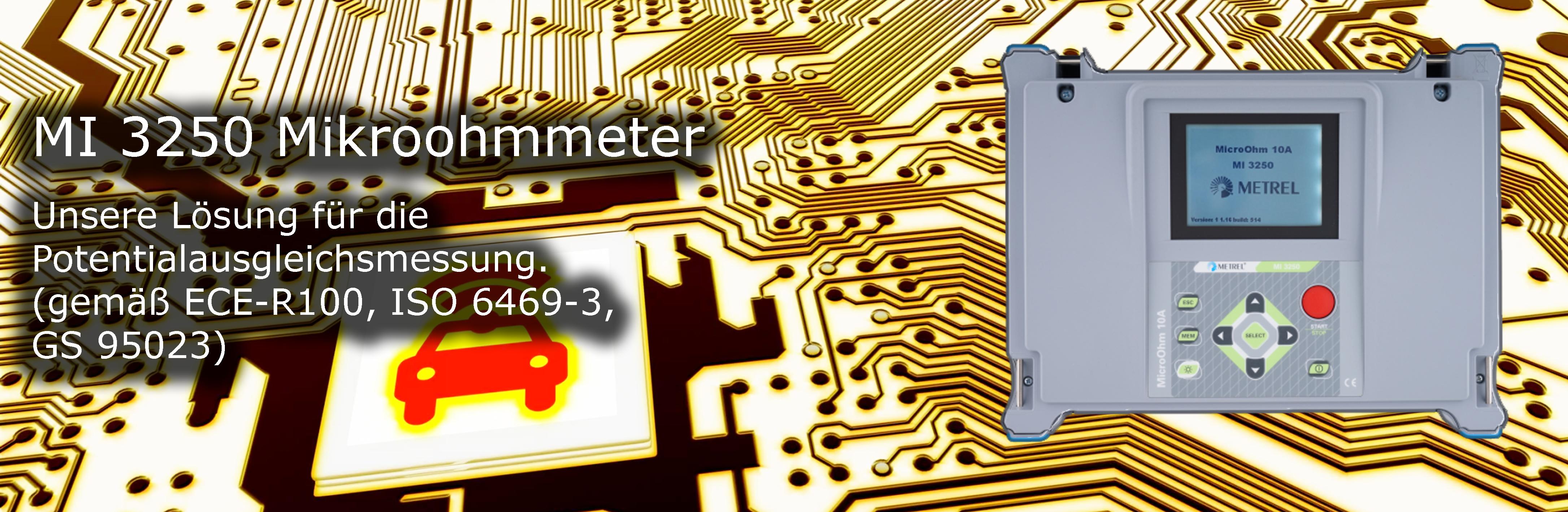 MI 3250 Microohmmeter